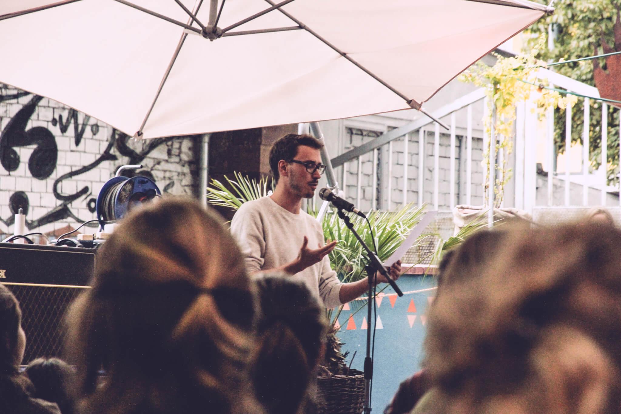 Nachhall Lesung im Café POW 2017